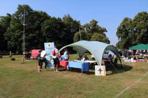Boultham park summer fair station