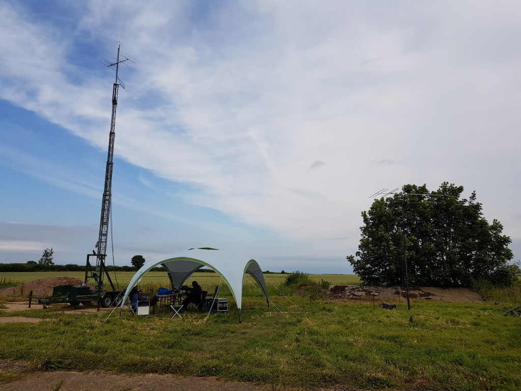 VHF Field Day 2019 G6COL/P Station