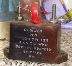 blocking capacitor