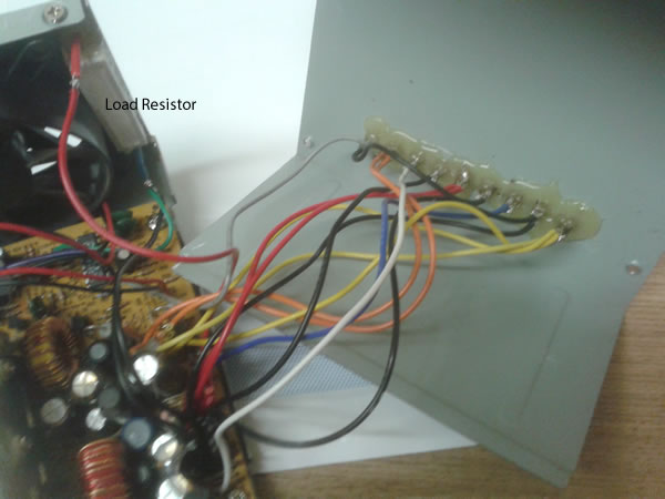 Inside the Modified ATX Power Supply