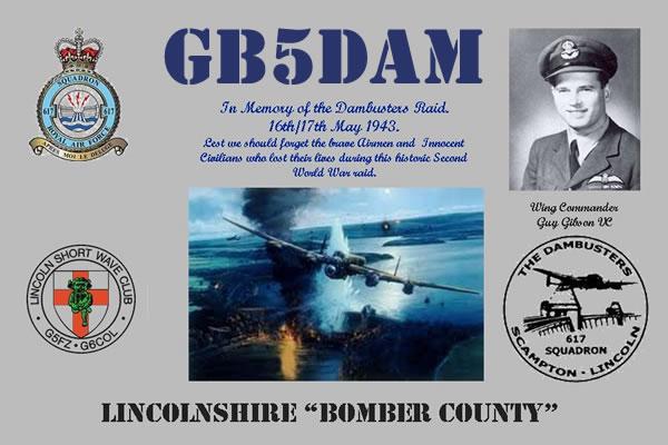 Dambusters Memorial Station GB5DAM